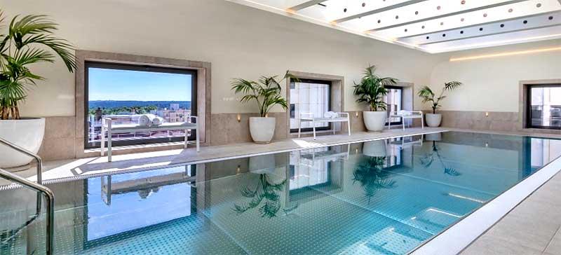 Hotel piscina climatizada Madrid