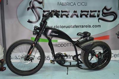 Bicicleta imitación Harley Davison
