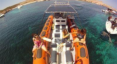 Excursión en lancha por Menorca