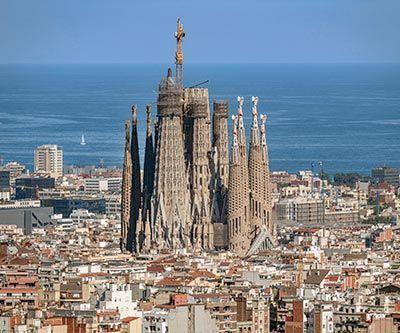 La Sagrada Familia en 2021