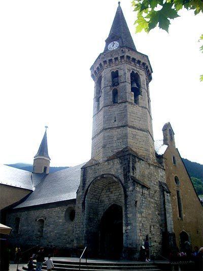 Iglesia parroquial San Miguel de Viella