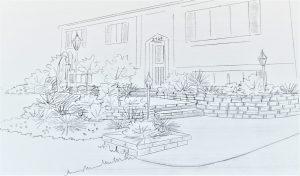 Plani-Décor-Aménagement paysager-Croquis 2