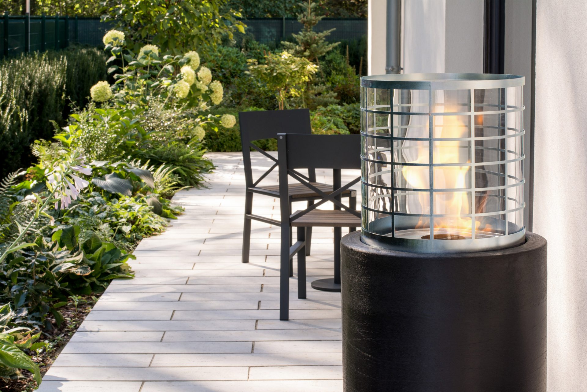 Freestanding Portable Outdoor Fireplaces