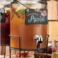 apple cider fall wedding