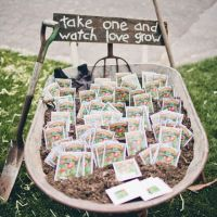 spring seed favors
