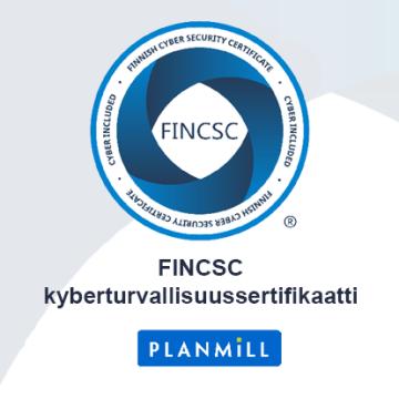 FINCSC-kyberturvallisuussertifikaatti