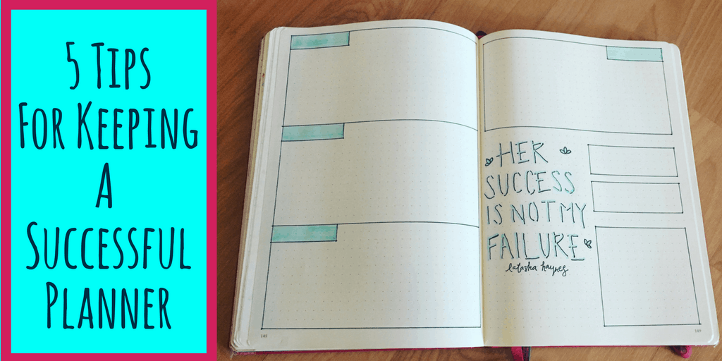 5 Tips to Keeping a Successful Planner