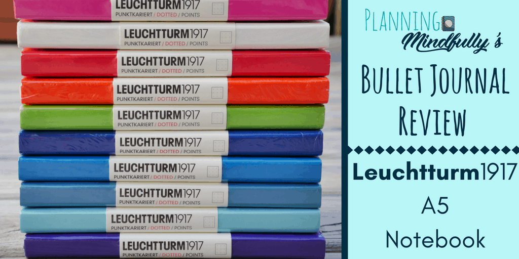 bullet journal supplies leuchtturm a notebook review  the leuchtturm1917 is probably the most well known notebook out there for bullet journals