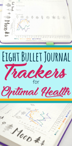 How to start fantastic bullet journal trackers to monitor your health in your bullet journal! Providers eight different ideas for types of bujo trackers, and even more examples of spreads to try! These trackers are great for both monthly and weekly formats. Lots of inspiration, even includes some of my favorite supplies for making my health trackers.
