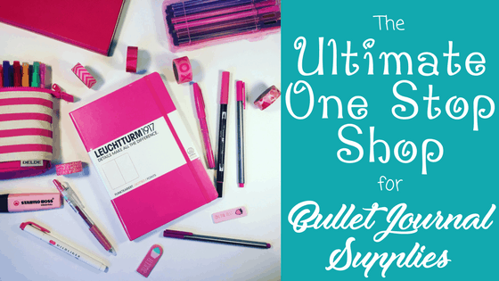 The Ultimate One Stop Shop for Bullet Journal Supplies