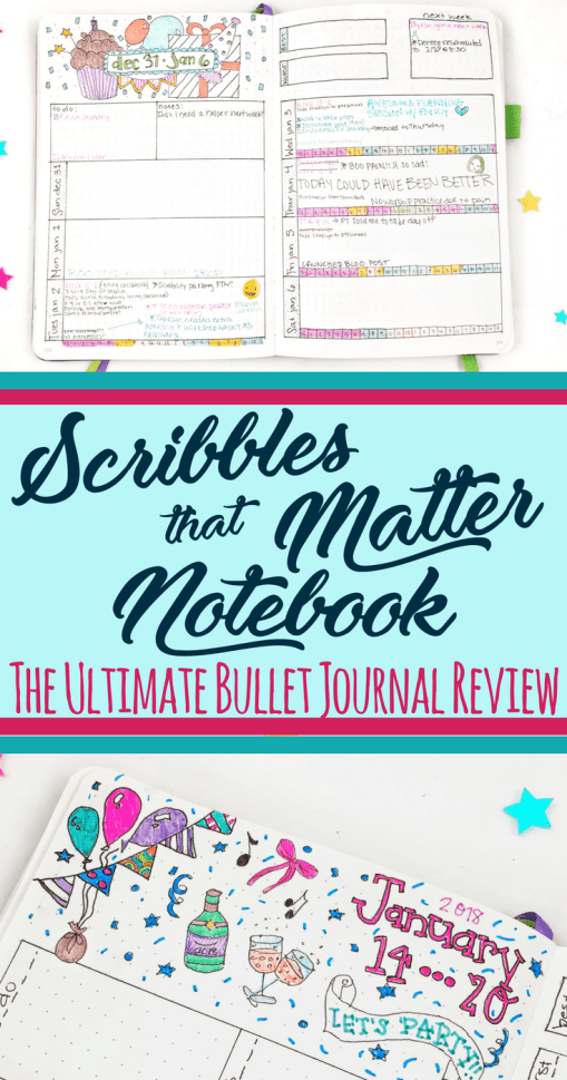 Need ideas for bullet journal supplies? Well, you definitely need a notebook before you can get started! But which one do you choose for your bullet journal? One of the most well loved notebooks in the community is the Scribbles that Matter notebooks. Is it actually worth the hype? Read the review to find out if this should be the your next bujo notebook. #bulletjournal #bujo #bujosupplies #bulletjournalideas #stationery #bujoreview