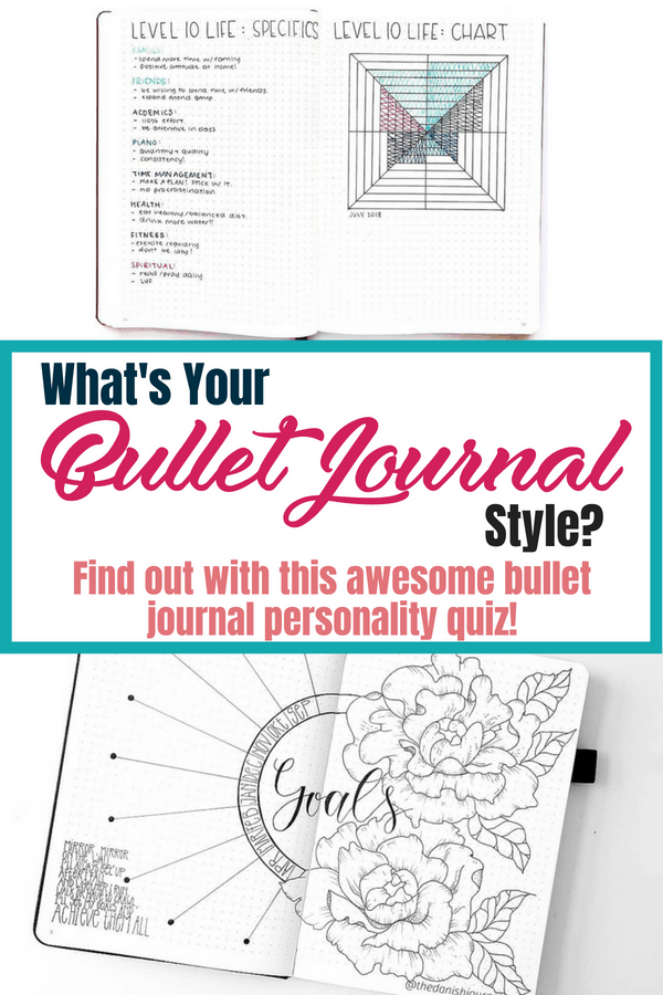 What's your bullet journal style? Find out with this awesome bullet journal personality quiz today! This quiz will fill you with bullet journal inspiration and tons of ideas. Get connect with other bujo accounts that match your style, stationery supplies perfect for your bullet journal, and more! #bulletjournalideas #bujo #bulletjournalcommunity #bulletjournal