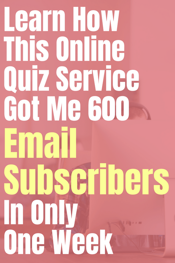 Learn how this online quiz service got me 600 email subscribers in only one week. Try Interact- a quiz service that helps you better connect with your niche and your audience on your blog, business, or website. This easy to use service is fun, too! #review #quiz #personalityquiz #takeaquiz