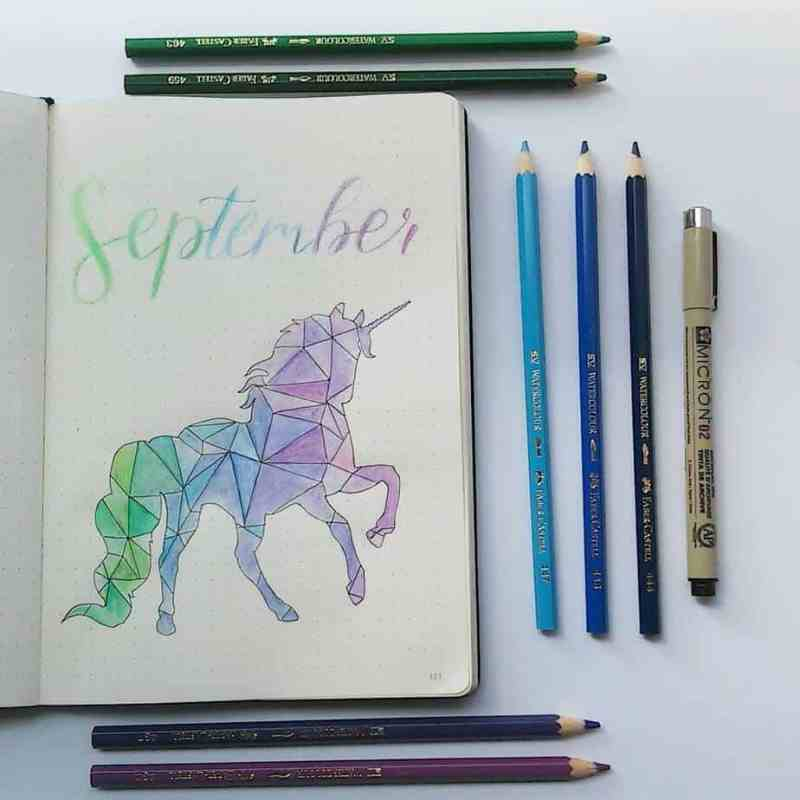 Magical cover page by @bountifulcolours I'm a sucker for unicorns, and this beautiful cover page tells me that we need more unicorn themed cover pages out there!