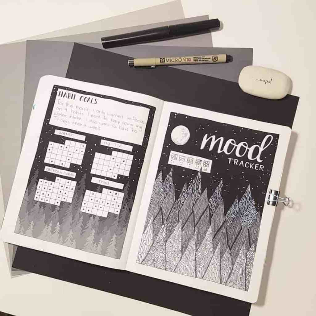 Mood and habit trackers are a reason why it wouldn't be a good idea to quit your bullet journal.