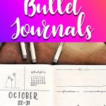 11 Things I learned after using bullet journals for two years Pinterest image.