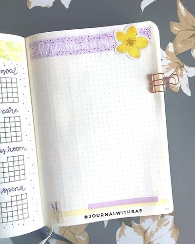 Flower doodle brain dump idea