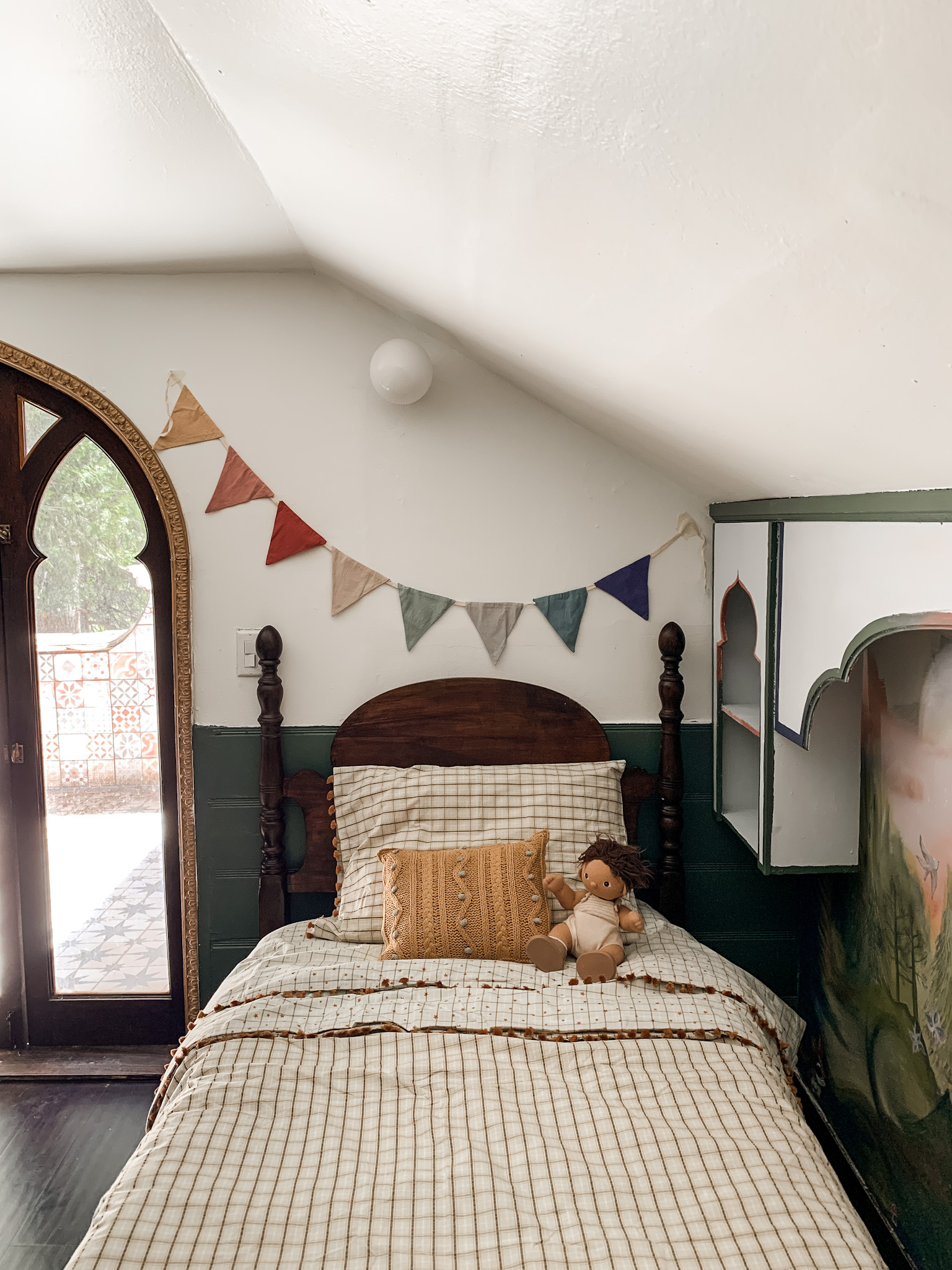One Room Challenge Week 7 – Time to Decorate & Style the Attic Bedroom