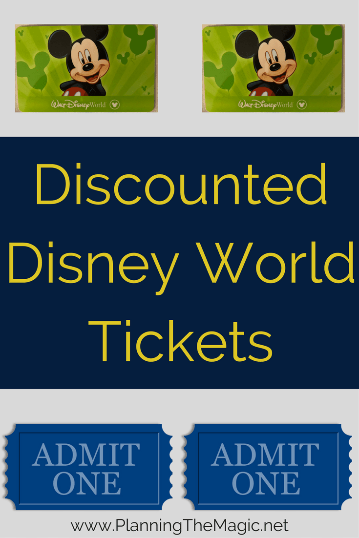 Discount disney world tickets 2018 planning the magic fandeluxe Image collections
