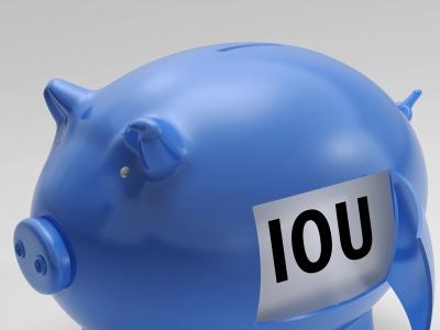 IOU Piggybank