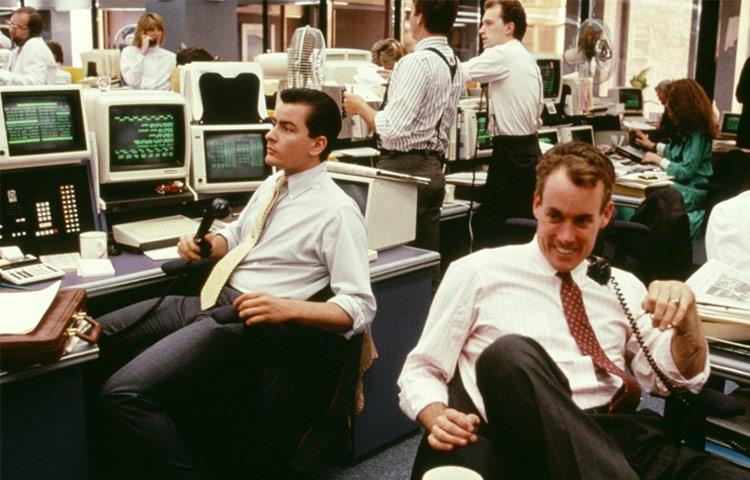 Resultado de imagem para 1. Wall Street: Poder e Cobiça (1987)