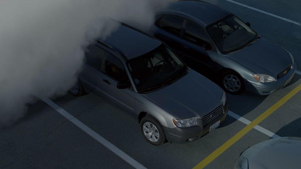 O Nevoeiro Episódio Piloto efeitos especiais