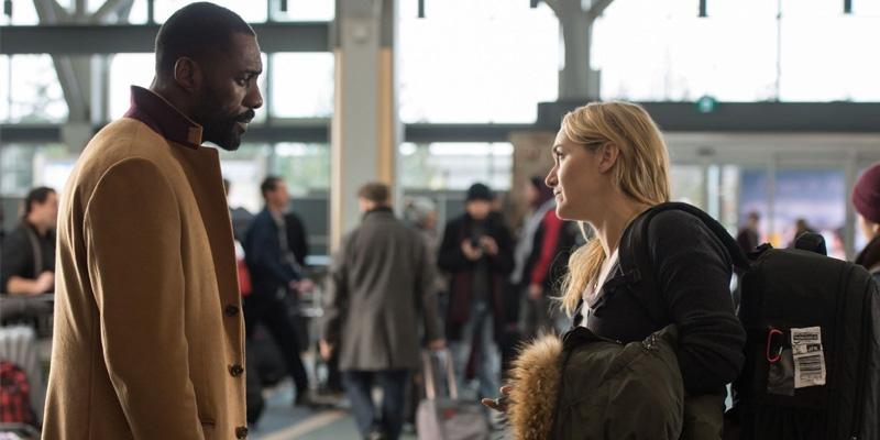 Idris Elba e Kate Winslet: não falta talento, mas falta roteiro.