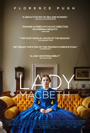 Filmes favoritos 2017 melhores do ano Lady Macbeth