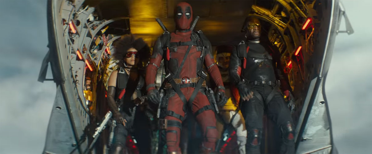 Deadpool 2 X Force Ryan Reynolds Domino Bedlam