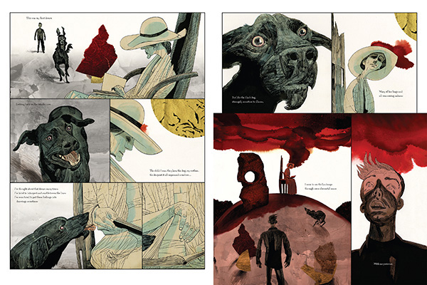 Black Dog Dave McKean Paul Nash