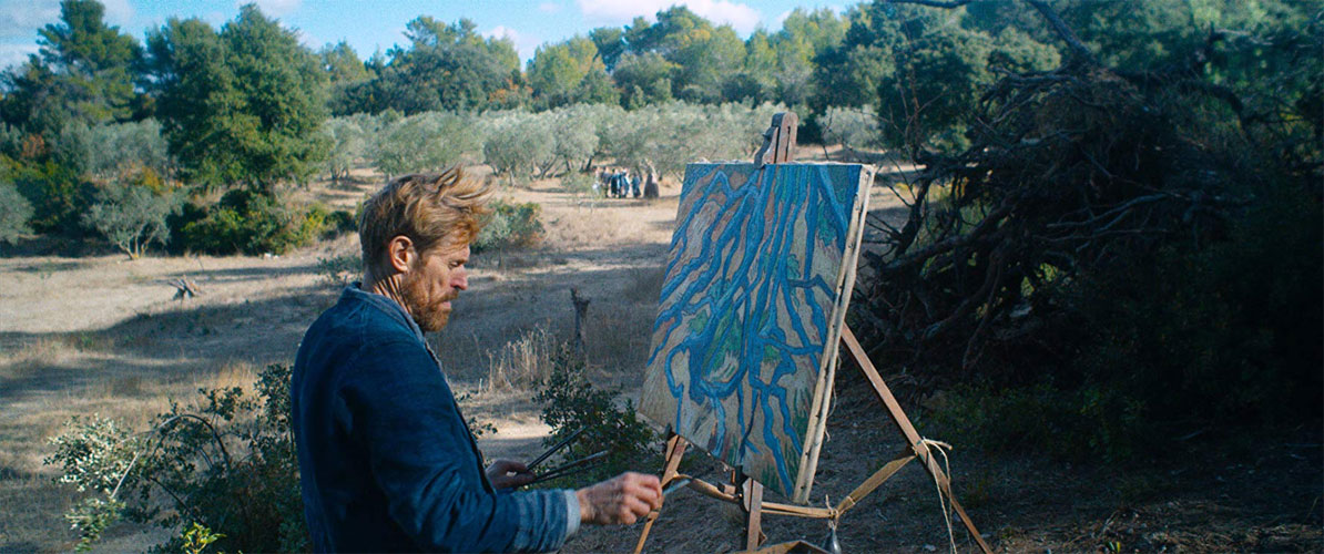 No Portal da Eternidade At Eternity's Gate Willem Dafoe Vincent Van Gogh Oscar