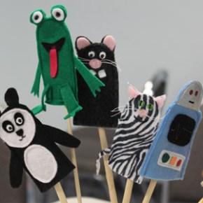 Finger puppets for Children's