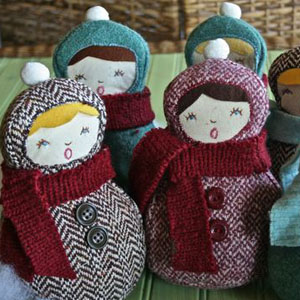 Winter Caroler Tutorial