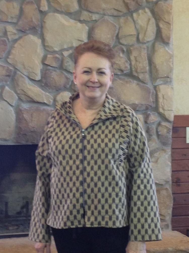 Brenda Toub - Sewing workshop jacket