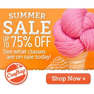 Craftsy Summer Sale!