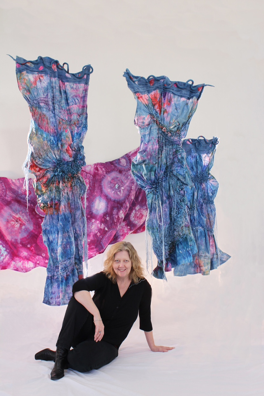 DAFA February 22 program SHIBORI!, March workshops with Marinda Stewart