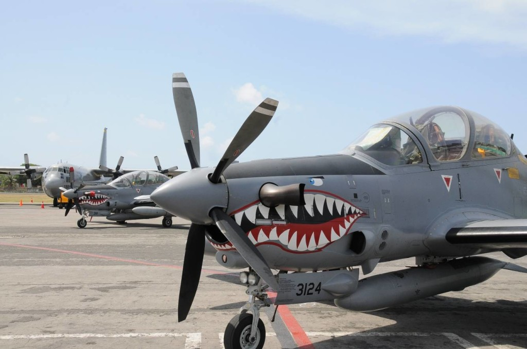 FUerza Aerea Colombiana Maple Flag A29 Super tucano