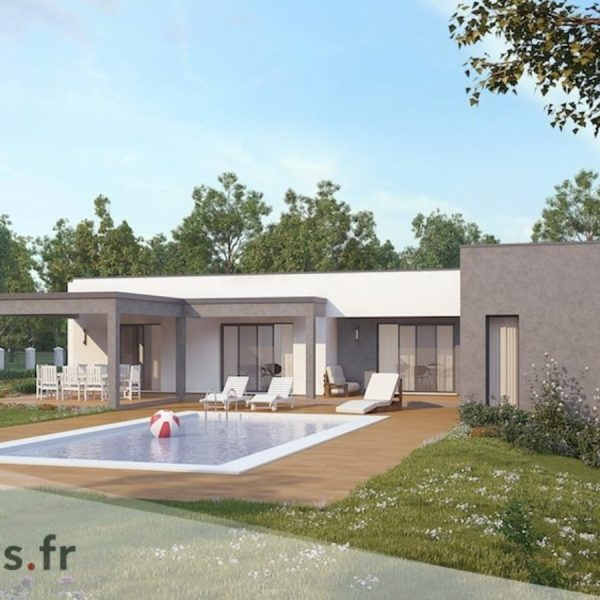 Maison Architecte   Plans et Mod    les Titanium  Maison contemporaine