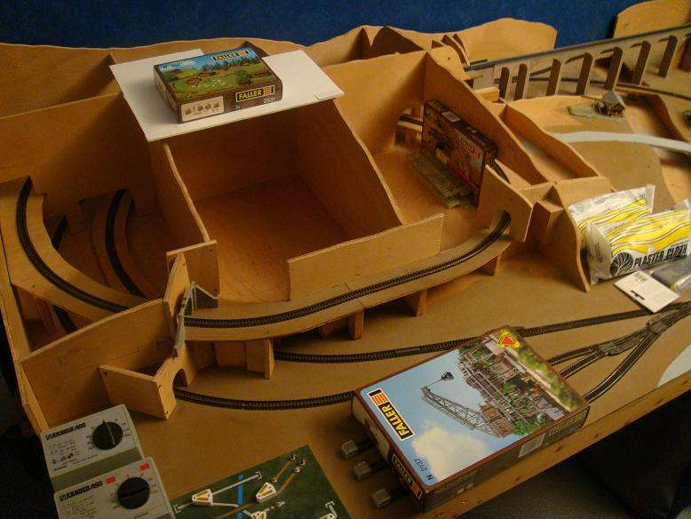 circuit de train electrique