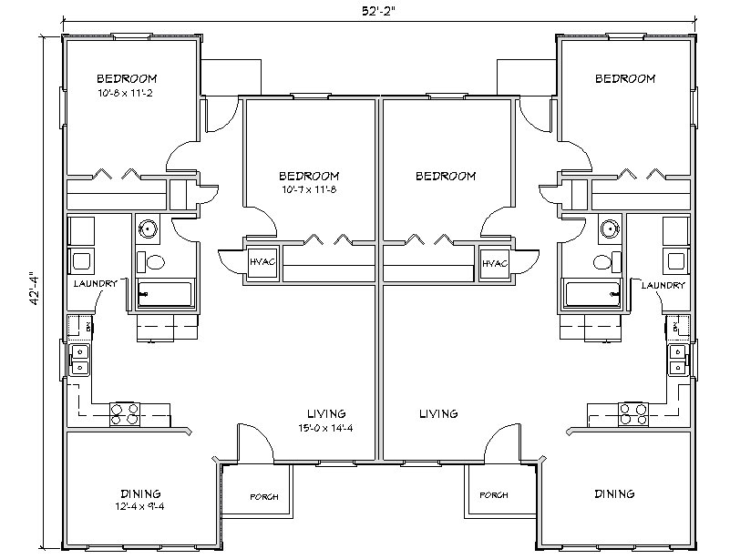 Efficient Kitchen Floor Plans
