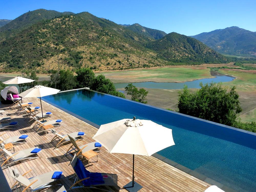 Chile Wine Region Vina VIK Swimming Pool
