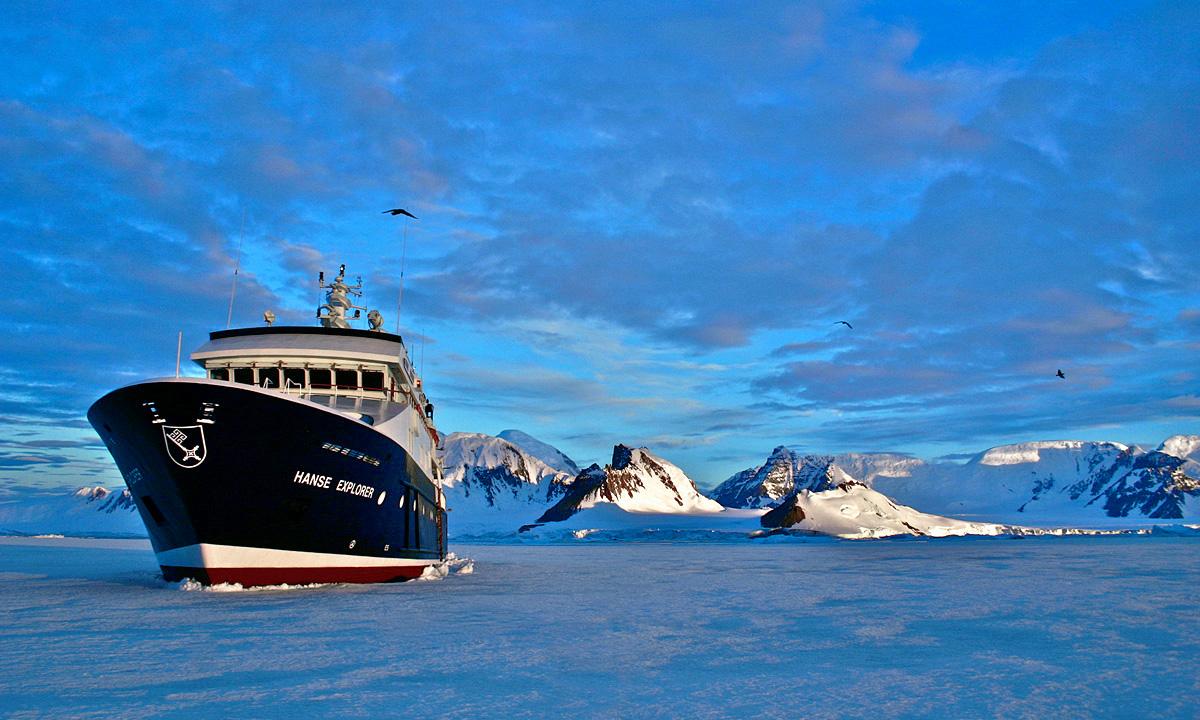 Hanse Explorer Antarctica
