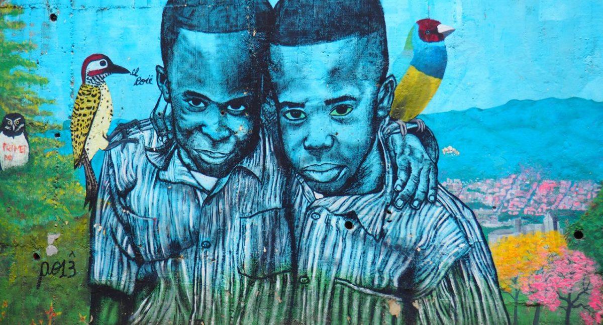 Medellin - Blue Boys - Graffiti