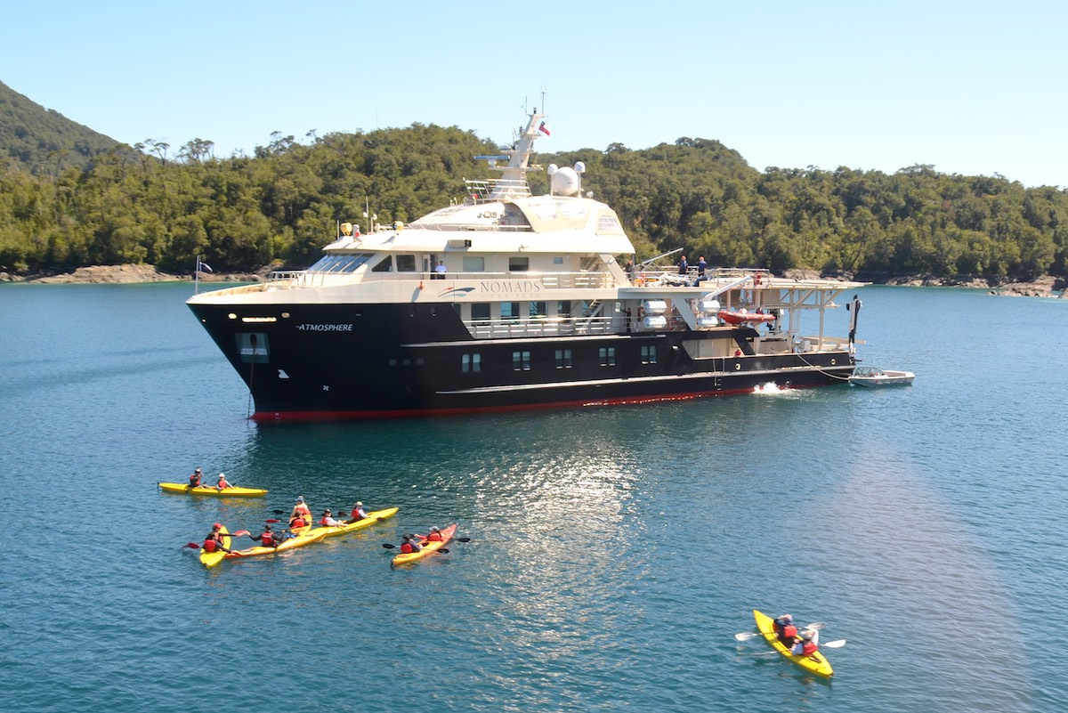 Cruising the Chilean Fjords - Kayaking