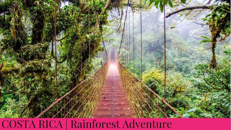 Family Inspired Adventures - Costa Rica Rainforest Adventure