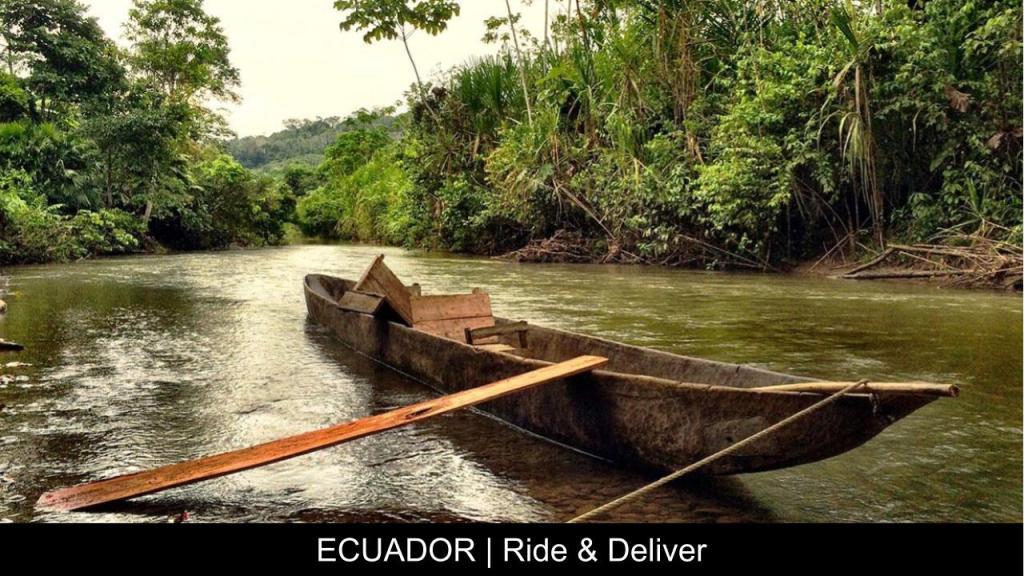 Ecuador Ride & Deliver - Travel With Purpose