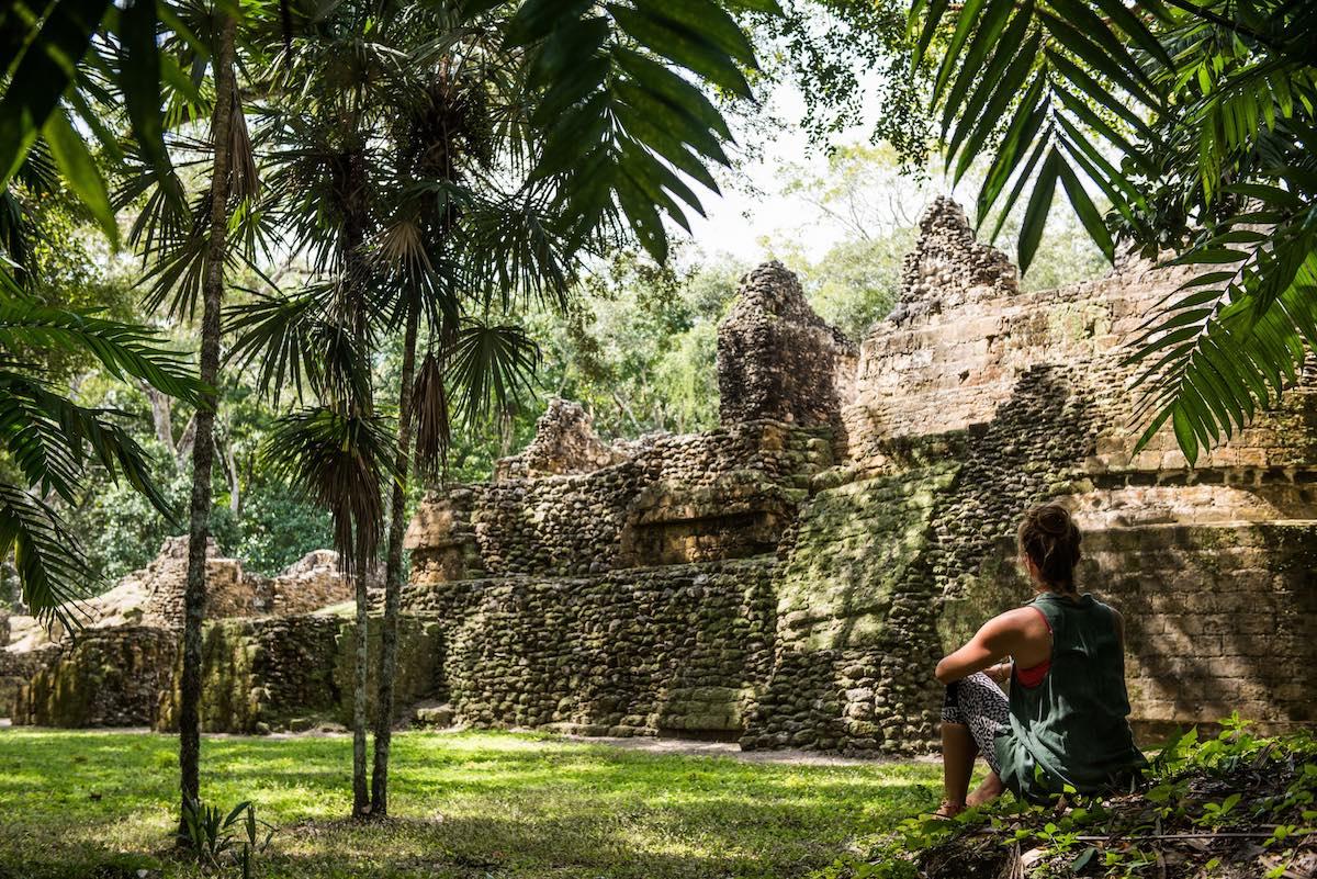 Uaxactun Mayan Ruins, Guatemala