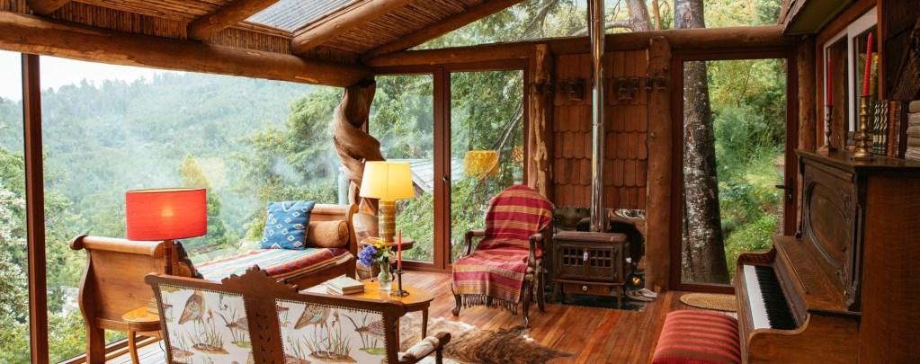 Barraco Lodge, Chile   Plan South America