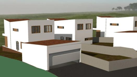 3 viviendas unifamiliares en hilera
