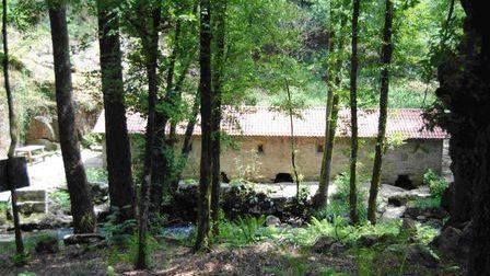 Ponte peonil área recreativa de Covián
